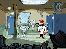 In game image of Spy Fox in