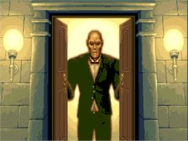 In game image of Waxworks on the ScummVM.
