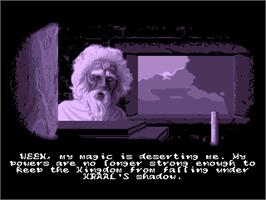 In game image of Ween: The Prophecy on the ScummVM.