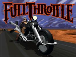 Title screen of Full Throttle on the ScummVM.