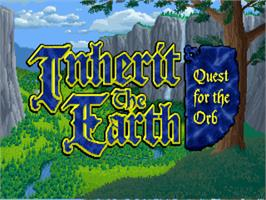 Title screen of Inherit the Earth: Quest for the Orb on the ScummVM.