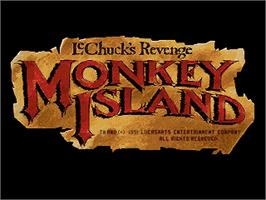 Title screen of Monkey Island 2: LeChuck's Revenge on the ScummVM.