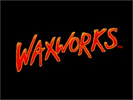 Title screen of Waxworks on the ScummVM.