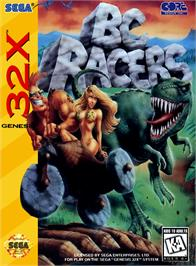 Box cover for BC Racers on the Sega 32X.
