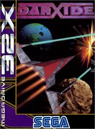 Box cover for Darxide on the Sega 32X.