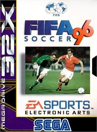Box cover for FIFA 96 on the Sega 32X.