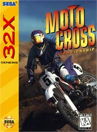 Box cover for Motocross Championship on the Sega 32X.