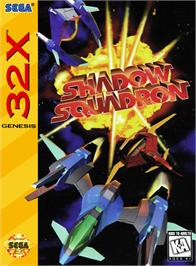 Box cover for Shadow Squadron on the Sega 32X.