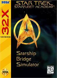 Box cover for Star Trek Starfleet Academy - Starship Bridge Simulator on the Sega 32X.