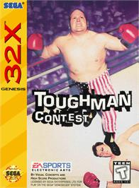 Box cover for Toughman Contest on the Sega 32X.