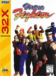 Box cover for Virtua Fighter on the Sega 32X.