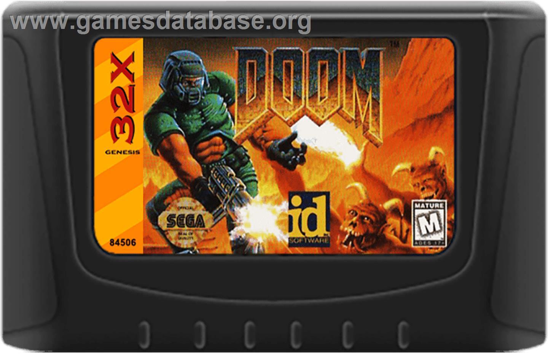 Doom Sega 32x Games Database