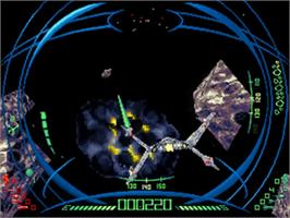 In game image of Darxide on the Sega 32X.