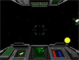 In game image of Shadow Squadron on the Sega 32X.
