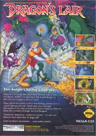 Advert for Dragon's Lair on the Sega CD.