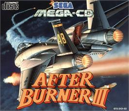 Box cover for After Burner III on the Sega CD.