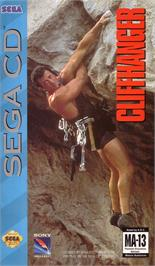 Box cover for Cliffhanger on the Sega CD.