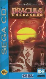 Box cover for Dracula Unleashed on the Sega CD.