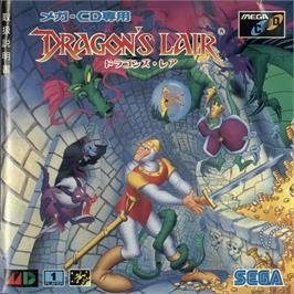 Box cover for Dragon's Lair on the Sega CD.
