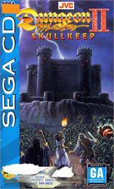 Box cover for Dungeon Master II: The Legend of Skullkeep on the Sega CD.