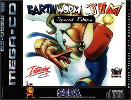 Box cover for Earthworm Jim Special Edition on the Sega CD.