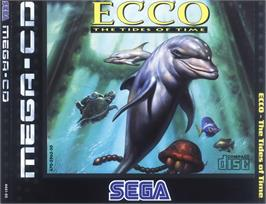Box cover for Ecco 2: The Tides of Time on the Sega CD.