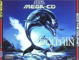 Box cover for Ecco the Dolphin on the Sega CD.
