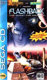 Box cover for Flashback on the Sega CD.
