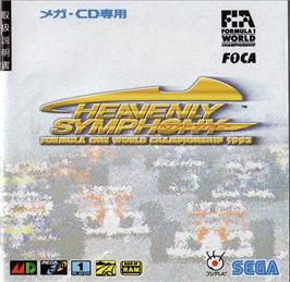 Box cover for Formula 1 World Championship: Beyond the Limit on the Sega CD.
