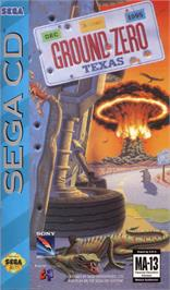 Box cover for Ground Zero Texas on the Sega CD.