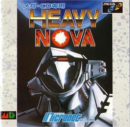 Box cover for Heavy Nova on the Sega CD.