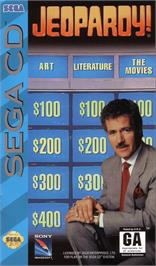 Box cover for Jeopardy on the Sega CD.
