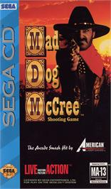 Box cover for Mad Dog McCree on the Sega CD.