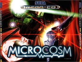 Box cover for Microcosm on the Sega CD.