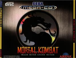 Box cover for Mortal Kombat on the Sega CD.