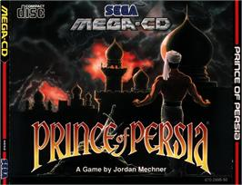 Box cover for Prince of Persia on the Sega CD.