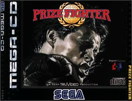 Box cover for Prize Fighter on the Sega CD.