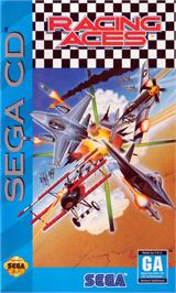 Box cover for Racing Aces on the Sega CD.