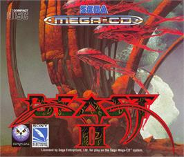 Box cover for Shadow of the Beast 2 on the Sega CD.