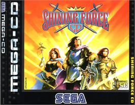 Box cover for Shining Force CD on the Sega CD.