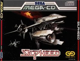 Box cover for Silpheed on the Sega CD.