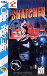 Box cover for Snatcher on the Sega CD.