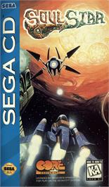 Box cover for Soulstar on the Sega CD.