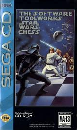Box cover for Star Wars Chess on the Sega CD.