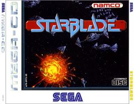 Box cover for Starblade on the Sega CD.