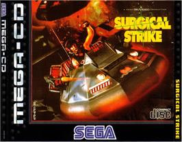 Box cover for Surgical Strike on the Sega CD.