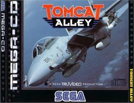 Box cover for Tomcat Alley on the Sega CD.