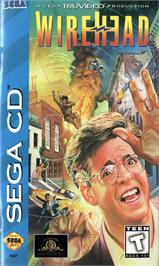 Box cover for Wirehead on the Sega CD.