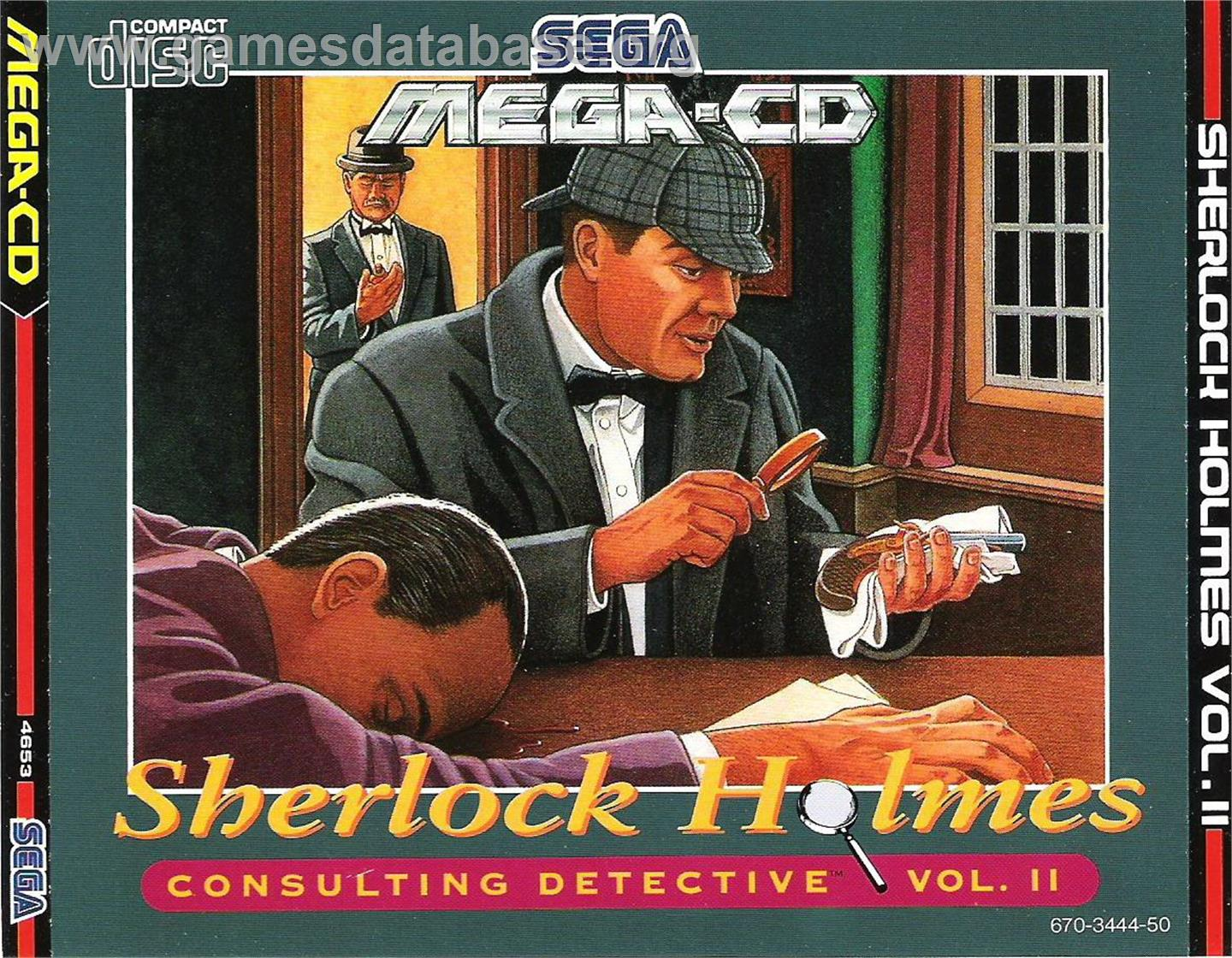 Box cover for Sherlock Holmes Consulting Detective: Volume 2 on the