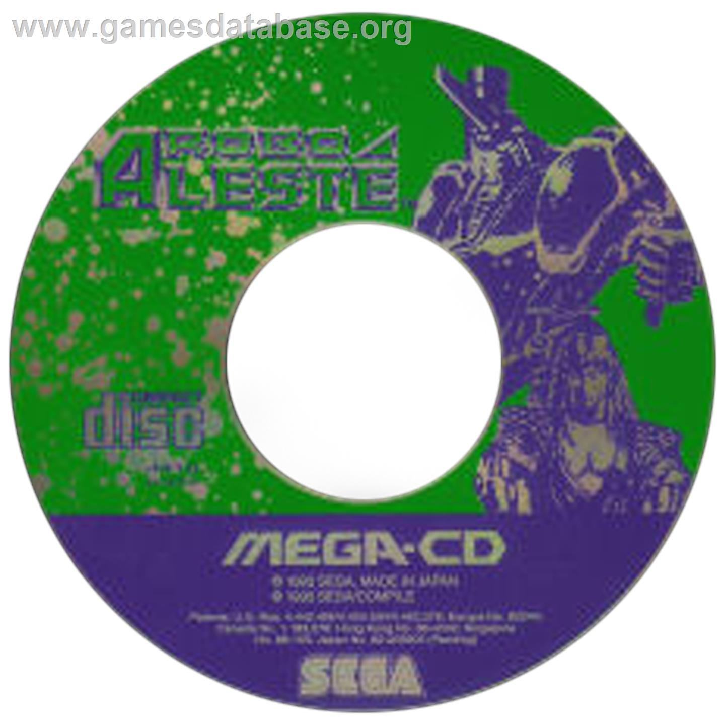 Robo Aleste - Sega CD - Artwork - CD